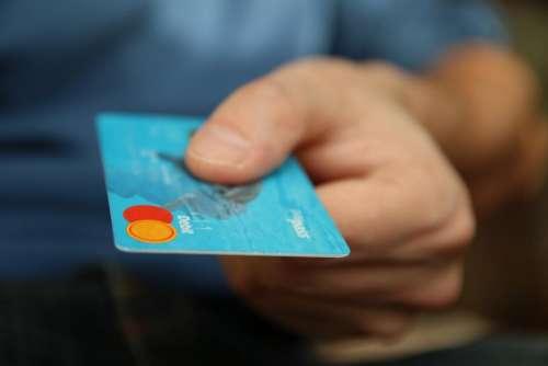 credit card money finance payment hand