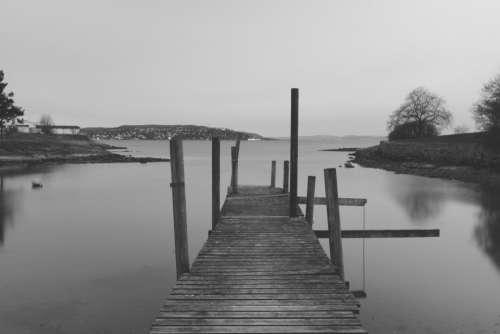 Bridge jetty pier dock water