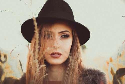 people girl woman hat cap