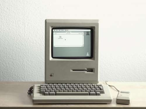 macintosh computer technology oldschool vintage