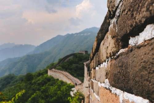 great wall china tourist destination