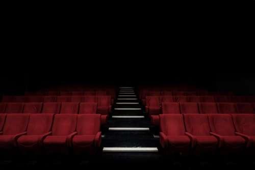 auditorium stadium bench chairs inside