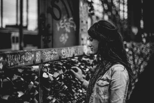 girl beauty alone people locks