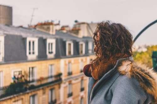 people woman girl thinking alone