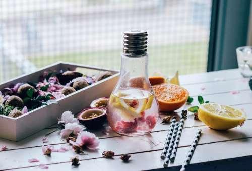 lifestyle water food fruits orange