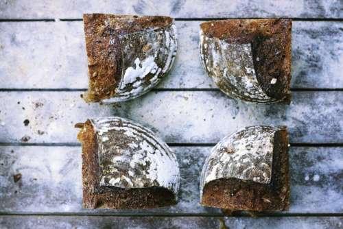 brown bread food bake sugar