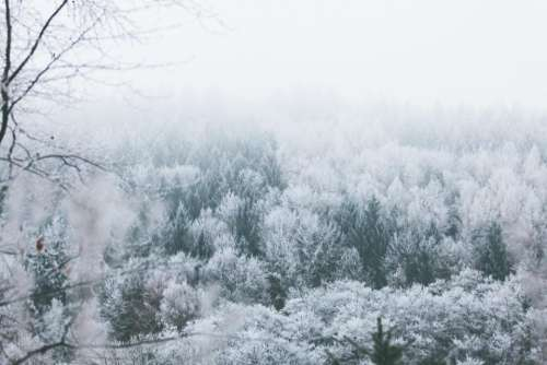snow winter mountain landscape adventure