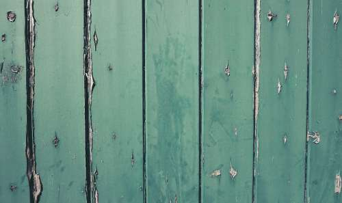 green wood boards texture background