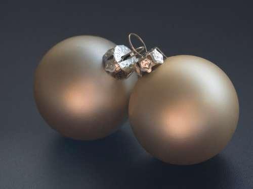 christmas baubles decorations balls matte