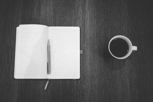 notebook notepad pen journal writing