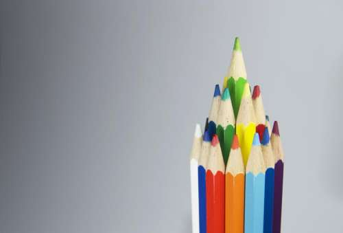 pencil color sharpener art drawing
