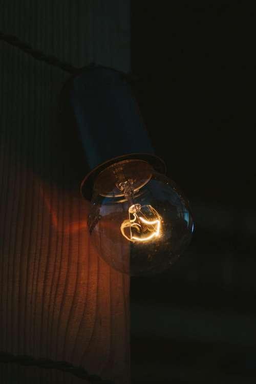 lamp bulb light spark chandelier