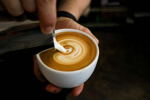 food beverage drink coffee latte