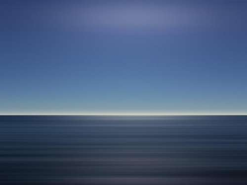 sea ocean blue water horizon