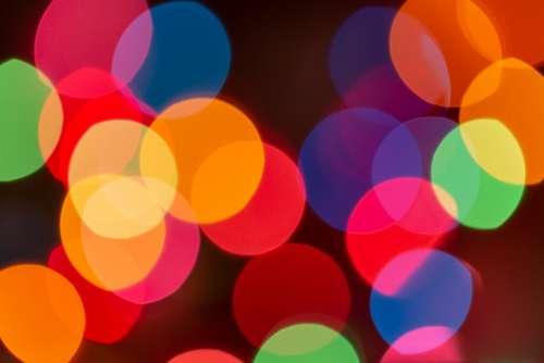 bokeh colorful lights wallpaper background