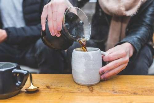 coffeemaker black brewed coffee drink
