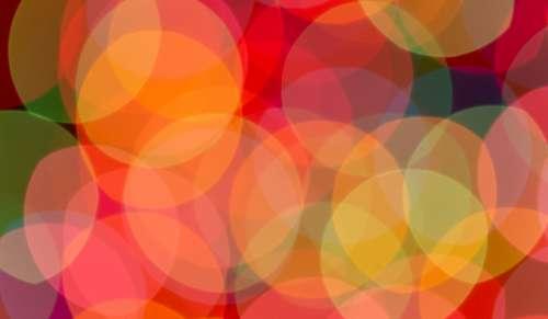 bokeh colorful lights blurred focus