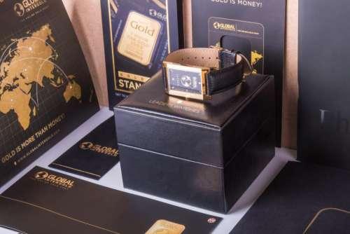 gift box black watch brochure