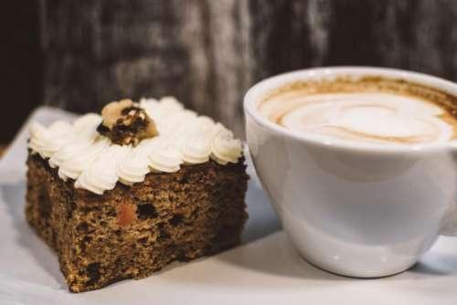 carrot cake cappucino coffee mug