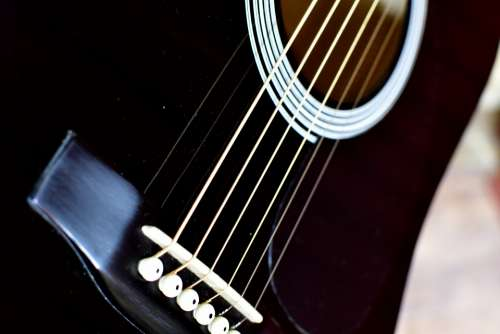 Guitar strings six string acoustic guitar music
