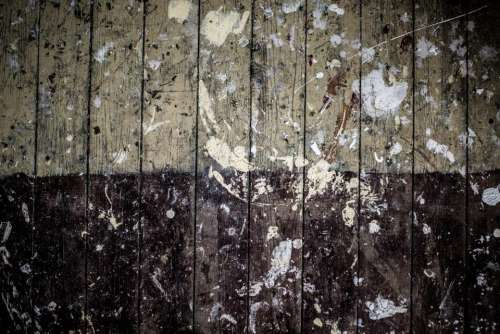 still items things wooden floor