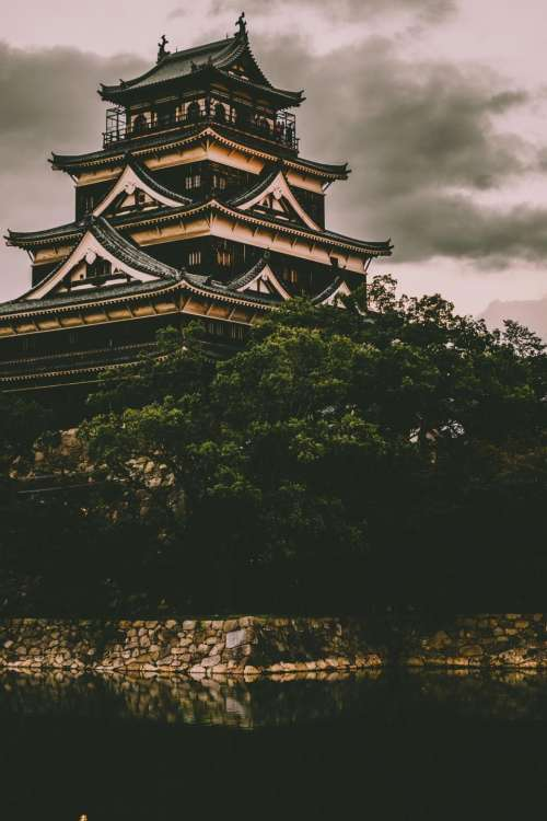 architecture building infrastructure design hiroshima castle