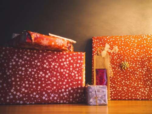 christmas presents gifts wrapping festive