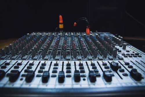sound mixer electronic technology audio