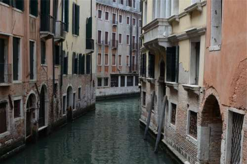 Venice Italy canal water houses