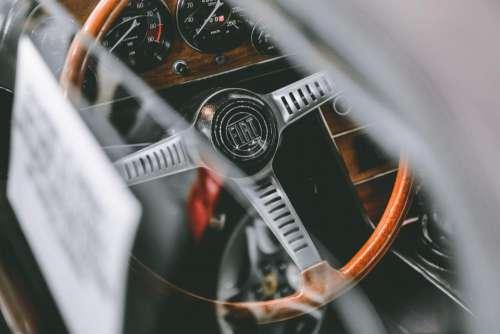 steering wheel dashboard car automotive vehicle