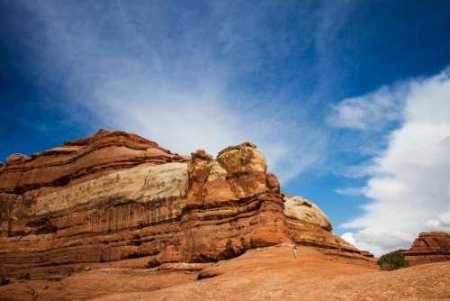 desert landscape sunny highland mountain