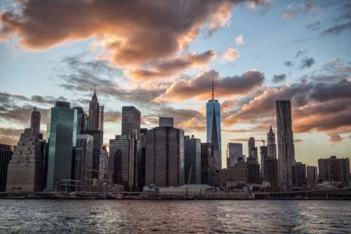 Architecture Business Travel NYC Sunset