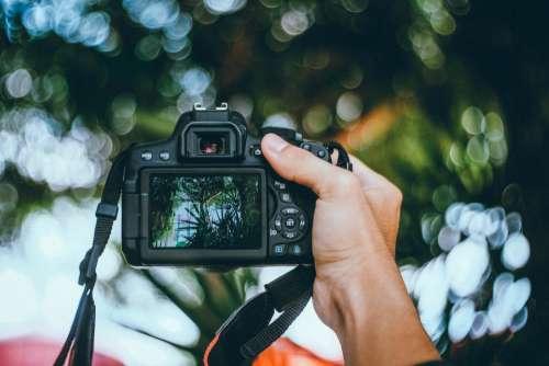 camera black photography blur bokeh