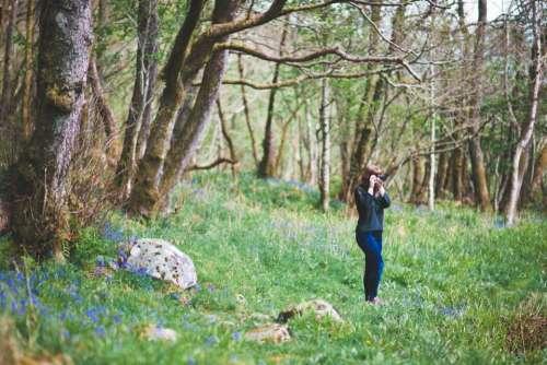 people girl woman photographer green