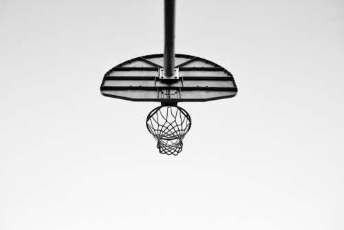 court ring sport basketball net