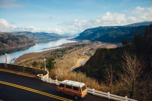 van vehicle automotive travel transportation