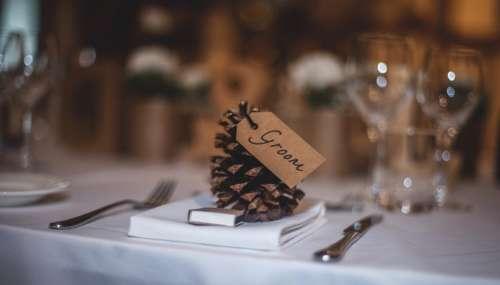 events wedding venue table spread