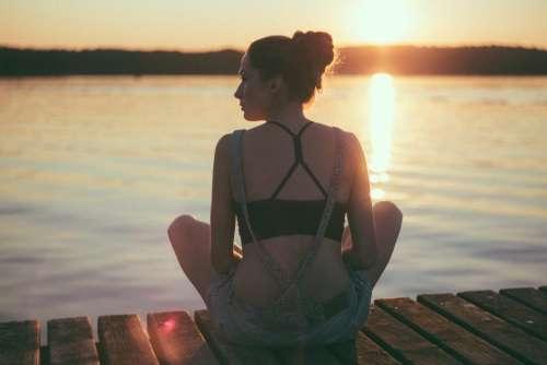 people girl beauty meditation health