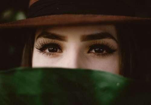 people women girl eyes eyebrows