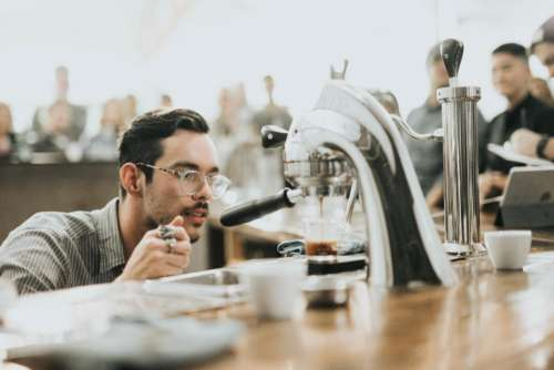coffee maker machine hot drink