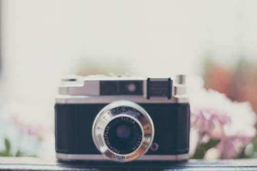 camera old vintage film lens