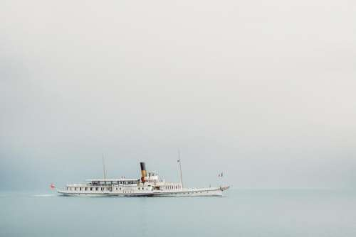 sky sea ocean water ship