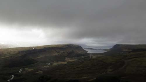 highland mountain hill landscape green