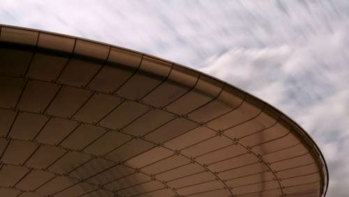 abstract background building futuristic curve