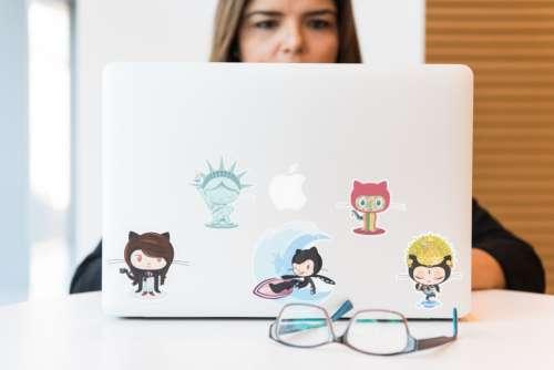 web developer working coder coding