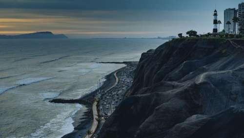 sea ocean water wave coast