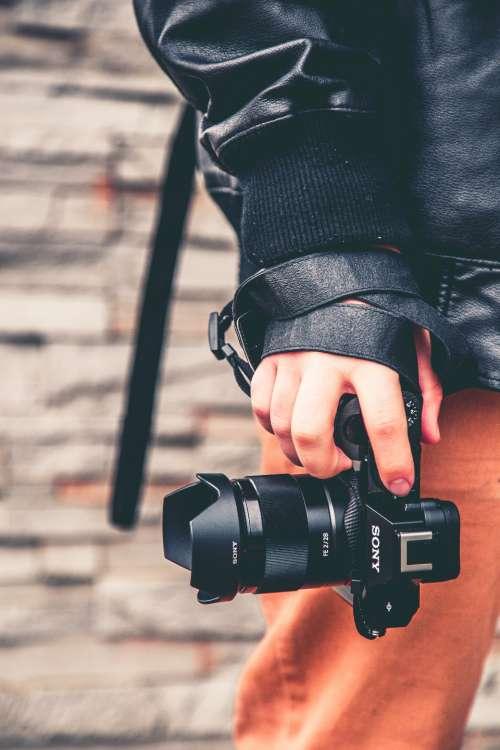 camera photographer photograph photo picture