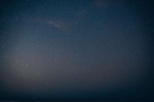 night sky stars galaxies