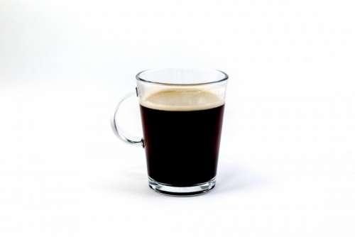 glass brewed coffee hot drinks