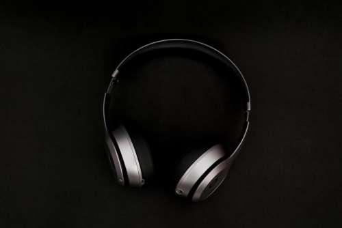 headphones music song foam black
